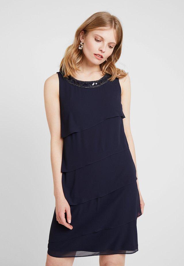 Koktejlové šaty/ šaty na párty - luxedo blue