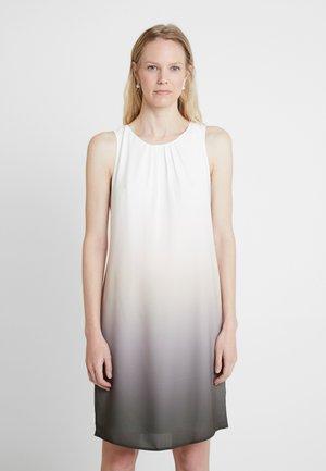 KURZ - Cocktailklänning - grey/white