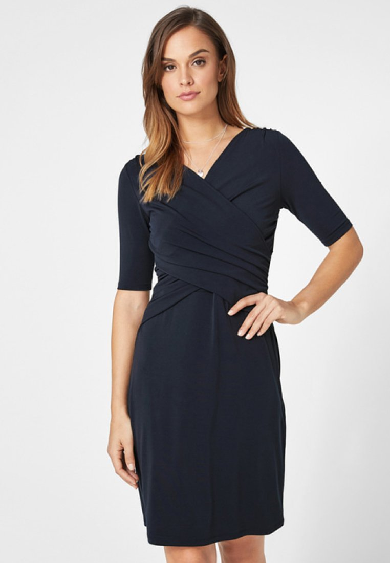 s.Oliver BLACK LABEL - MIT WICKELEFFEKT - Jerseyjurk - luxury blue