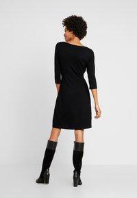 s.Oliver BLACK LABEL - KURZ - Stickad klänning - black - 3