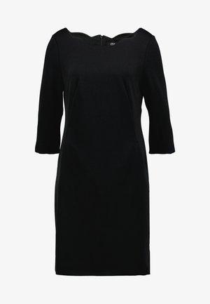 KURZ - Shift dress - forever black
