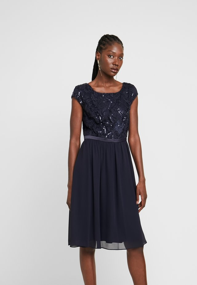 KURZ - Cocktailkleid/festliches Kleid - true blue