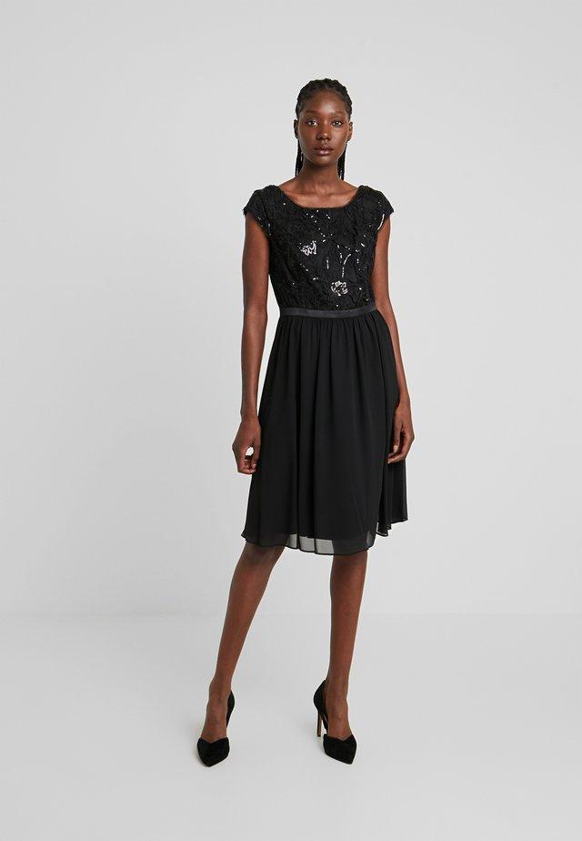KURZ - Cocktail dress / Party dress - forever black