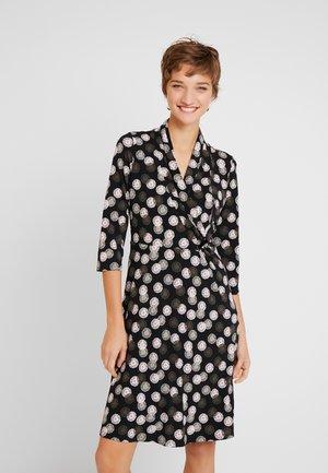 Žerzejové šaty - grey/black