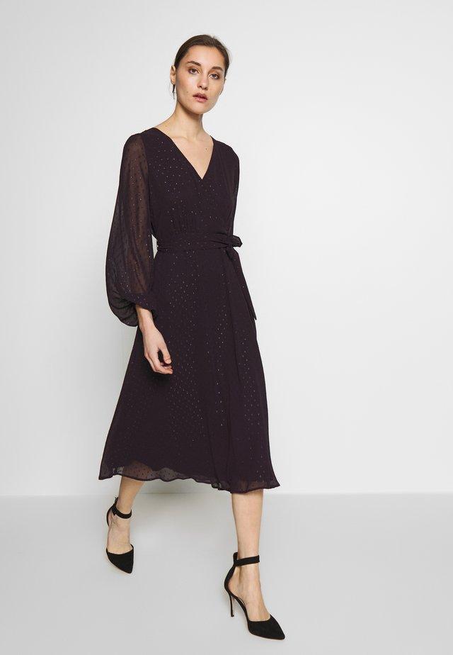 Denní šaty - plum