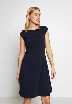 Korte jurk - true blue