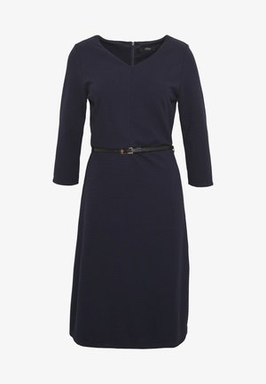 Pletené šaty - dark navy