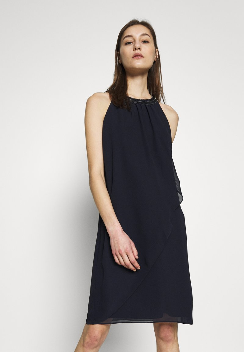 s.Oliver BLACK LABEL - Vestido de cóctel - dark navy