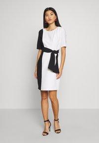 s.Oliver BLACK LABEL - Shift dress - soft white - 2