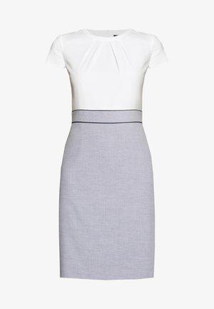 Shift dress - blue panne