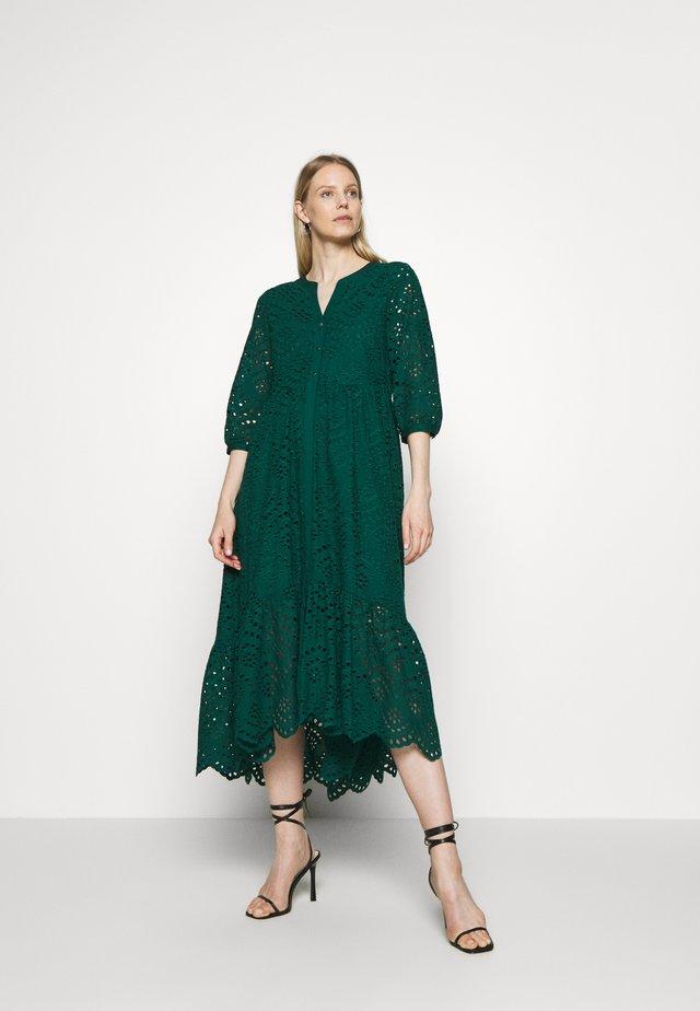 Robe chemise - laguna green