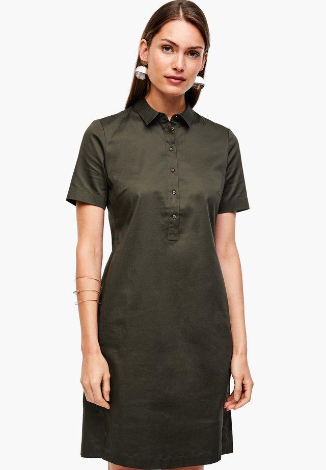 Robe chemise - dark khaki