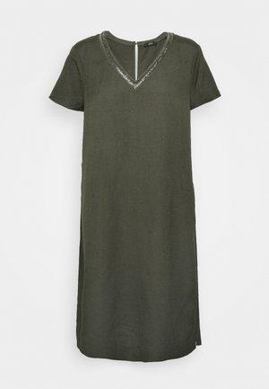 Vapaa-ajan mekko - dark khaki green