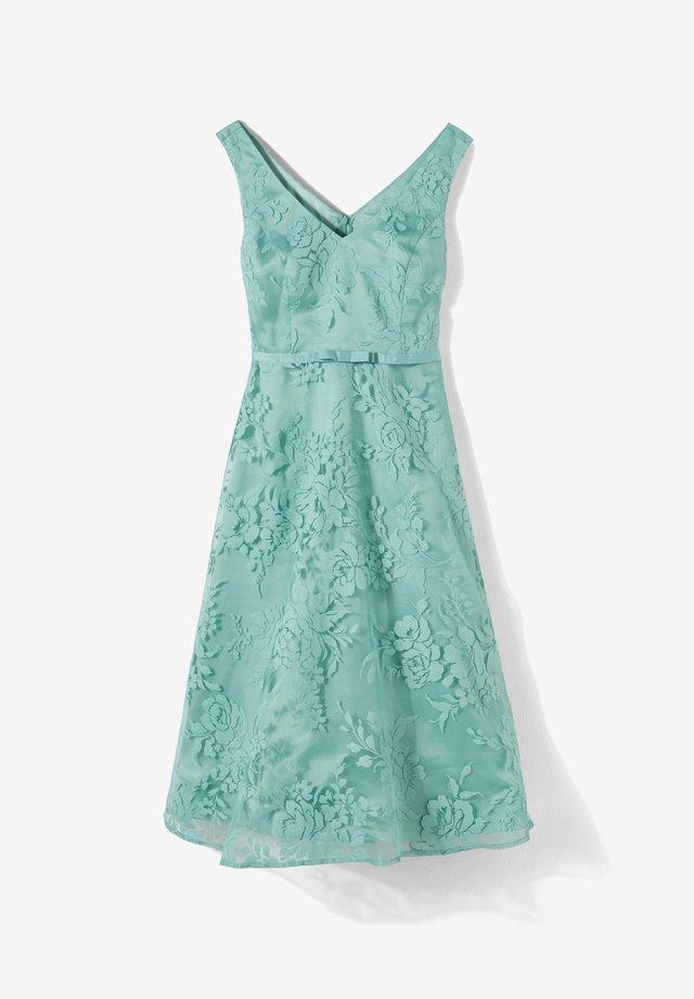 MIT RÜCKENAUSSCHNITT - Cocktailkleid/festliches Kleid - turquoise