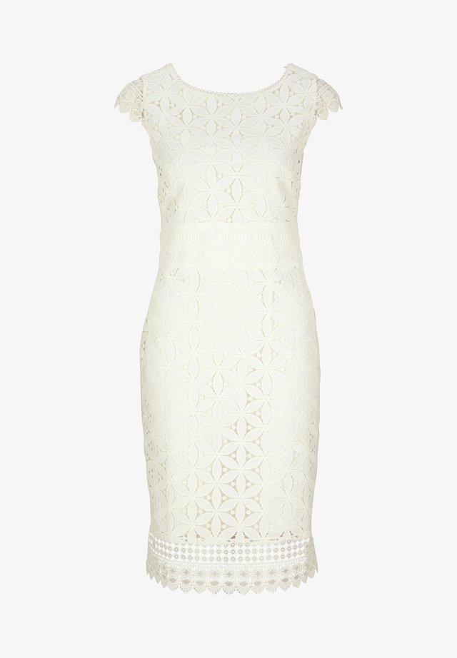 Etui-jurk - soft white