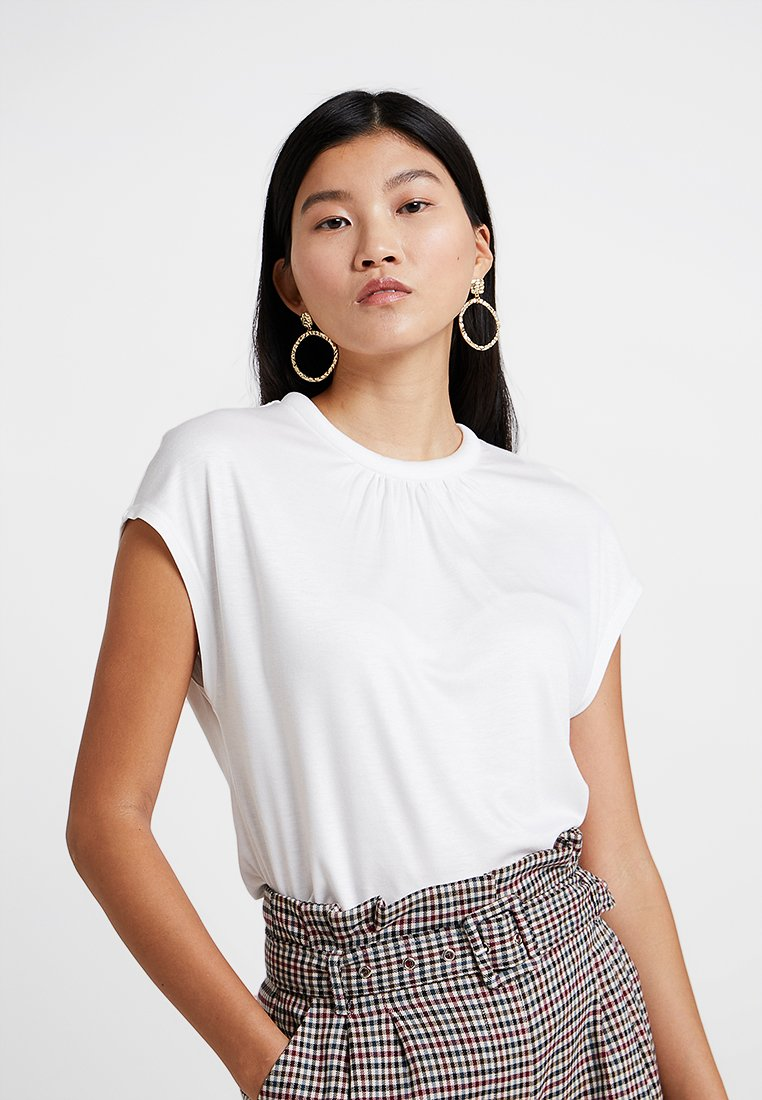 s.Oliver BLACK LABEL - T-Shirt print - spring cream