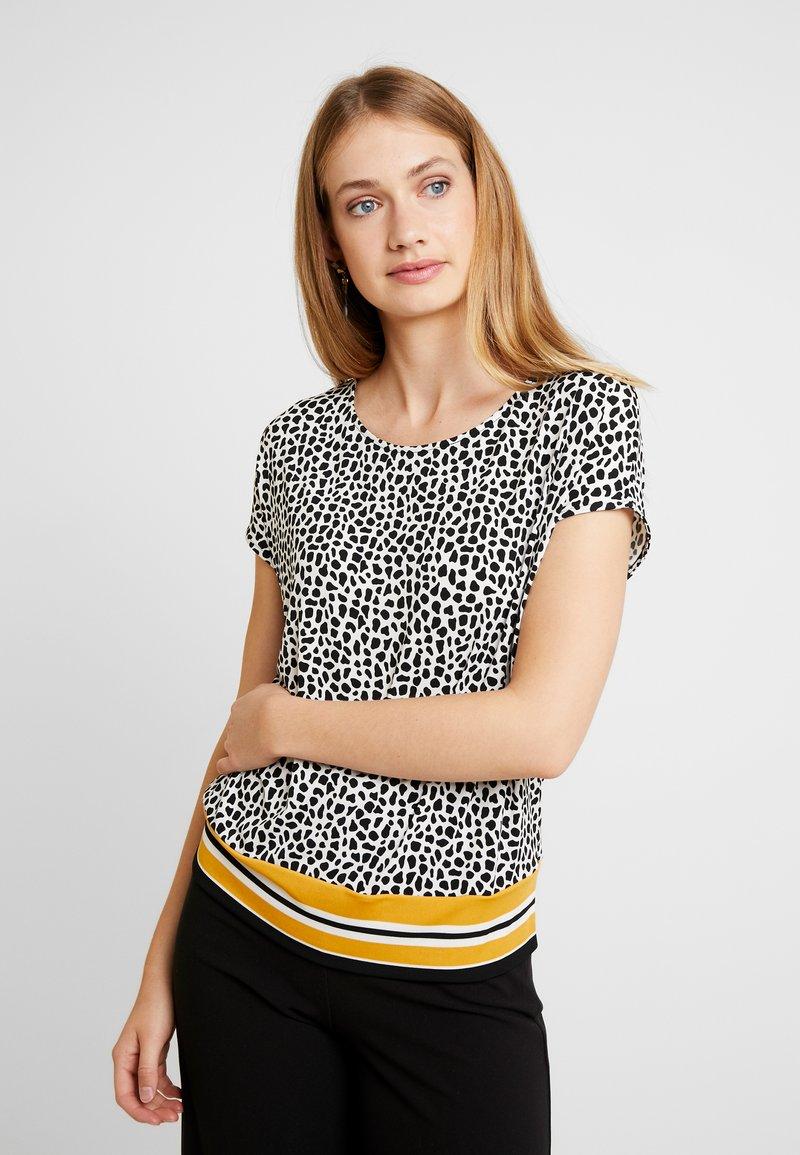 Label Imprimé oliver S KurzarmT shirt Black White n0mwN8