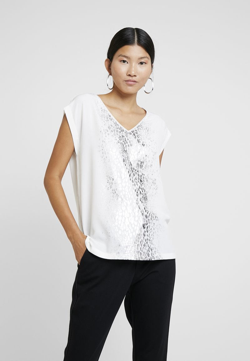 s.Oliver BLACK LABEL - KURZARM - Bluse - white