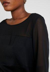s.Oliver BLACK LABEL - Blus - forever black - 5