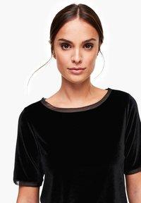 s.Oliver BLACK LABEL - T-shirt print - black - 3