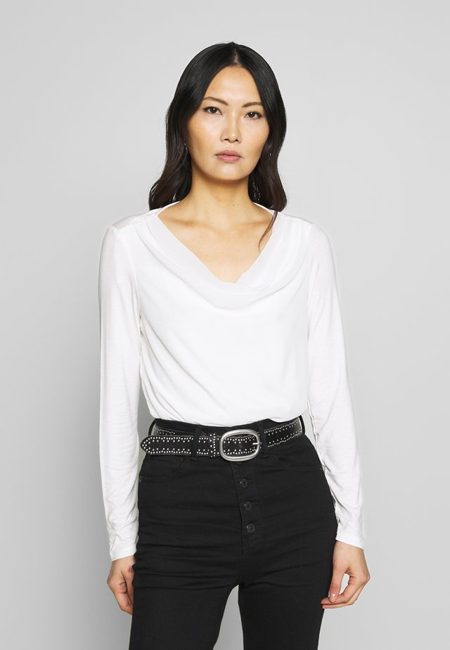 LONG SLEEVE - Blouse - soft white