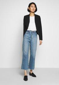 s.Oliver BLACK LABEL - T-SHIRT - T-shirt basique - soft white - 1