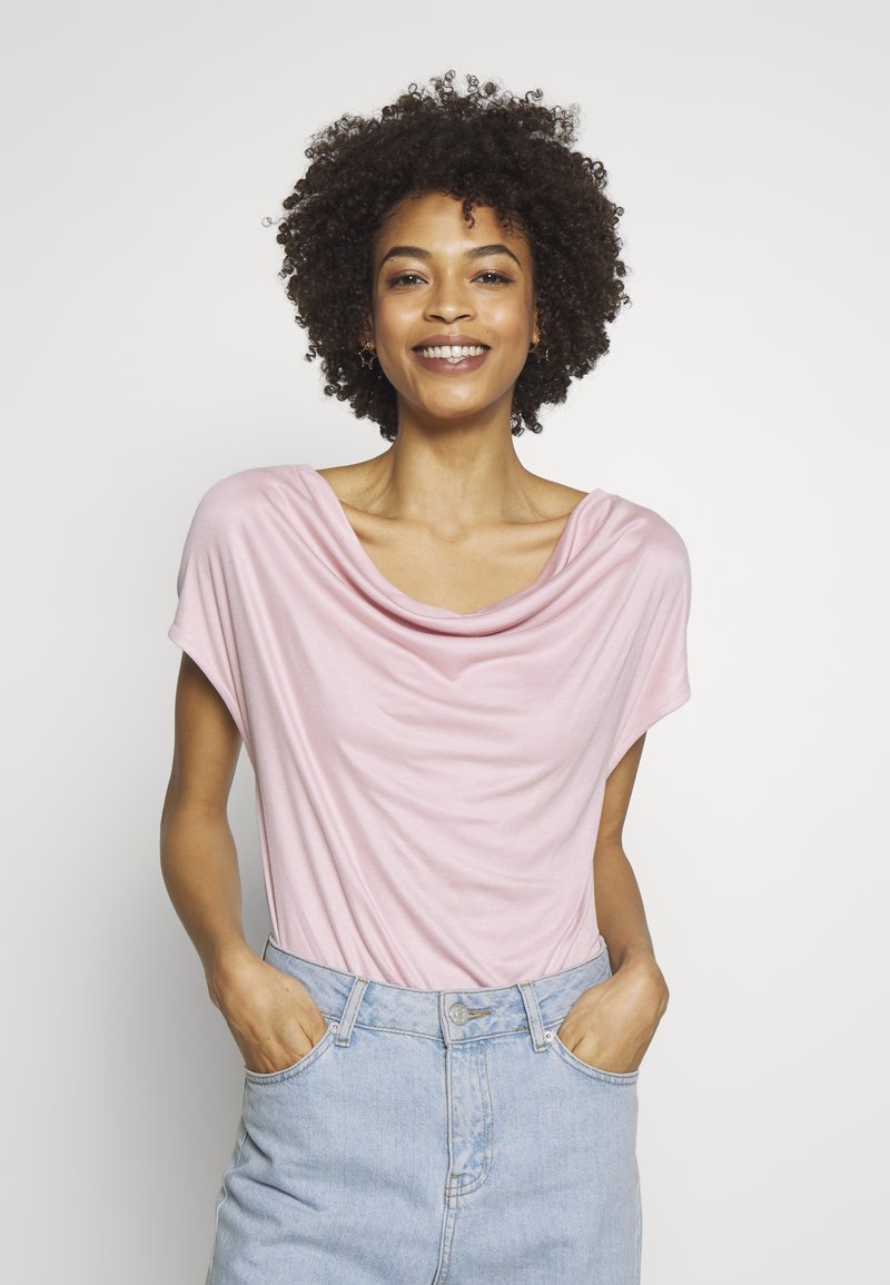 s.Oliver BLACK LABEL - T-SHIRT - Basic T-shirt - powder pin
