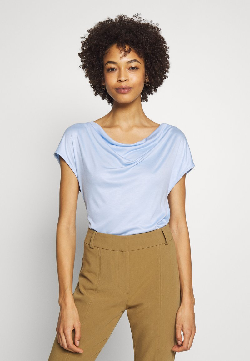 s.Oliver BLACK LABEL - T-SHIRT - Basic T-shirt - celestial