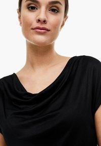 s.Oliver BLACK LABEL - T-SHIRT - Basic T-shirt - black - 4