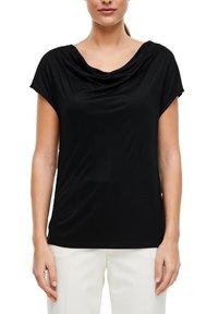 s.Oliver BLACK LABEL - T-SHIRT - Basic T-shirt - black - 3
