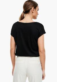 s.Oliver BLACK LABEL - T-SHIRT - Basic T-shirt - black - 2