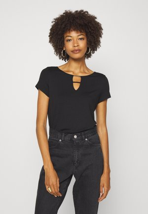 T-shirts basic - true black
