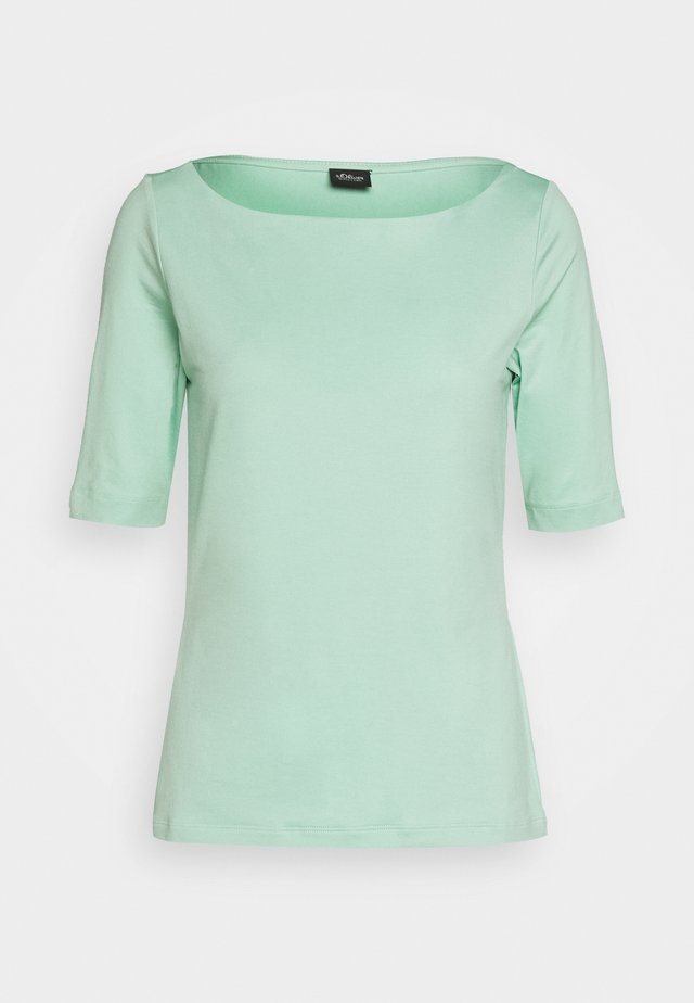 T-shirt basique - misty gree