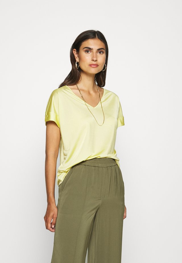 T-shirt imprimé - sorbet yellow