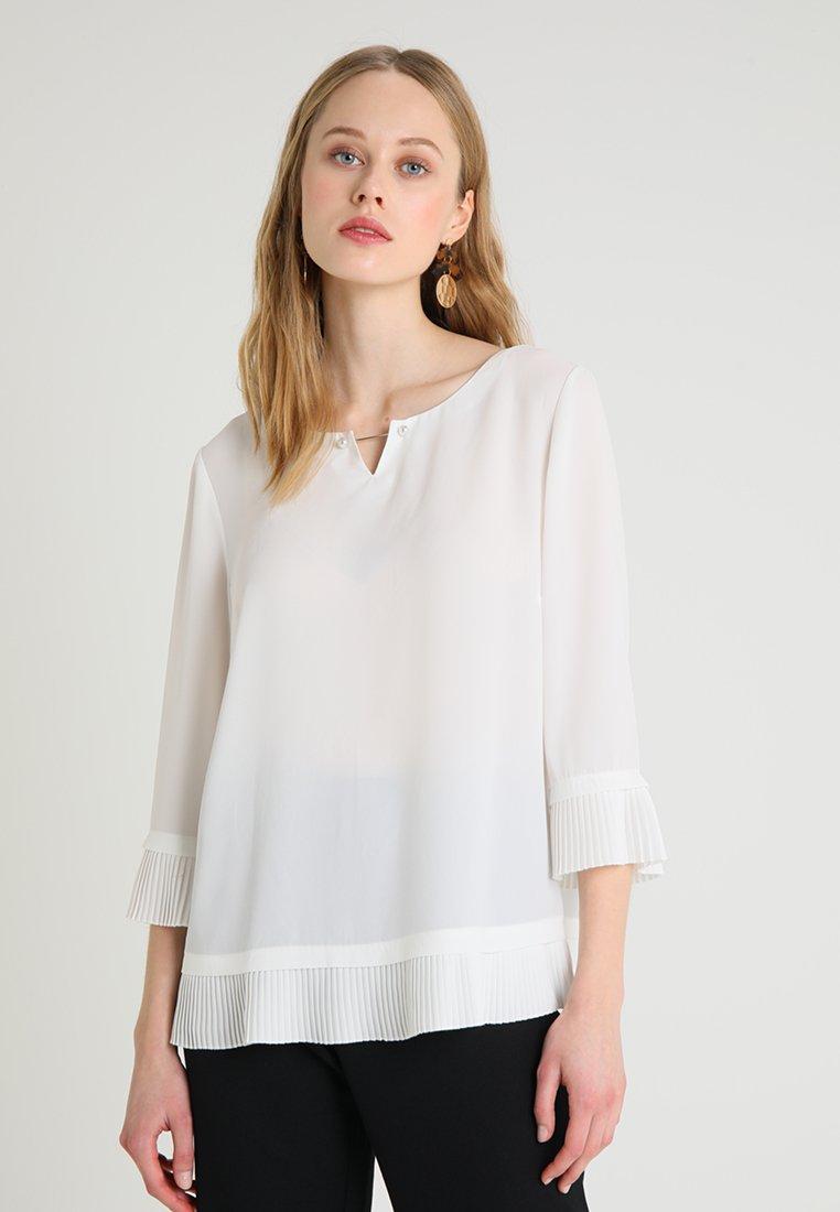 s.Oliver BLACK LABEL - 3/4 ARM - Bluse - winter white