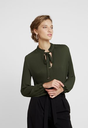 Blouse - winter khaki