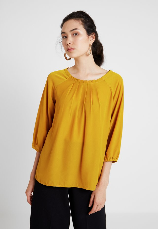 3/4 ARM - Blouse - really mustard