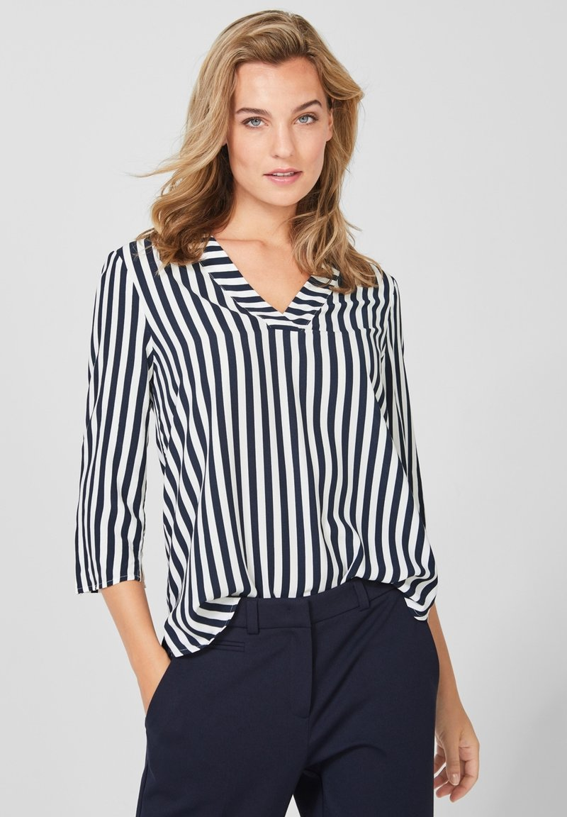 s.Oliver BLACK LABEL - 3/4 ARM - Blouse - dark blue