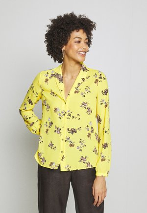 LANGARM - Blouse - yellow