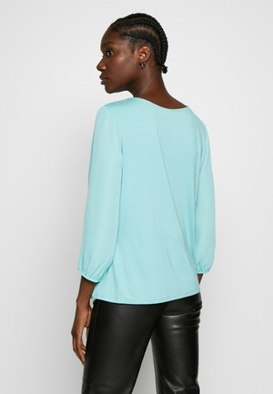 3/4 ARM - Blouse - aqua green