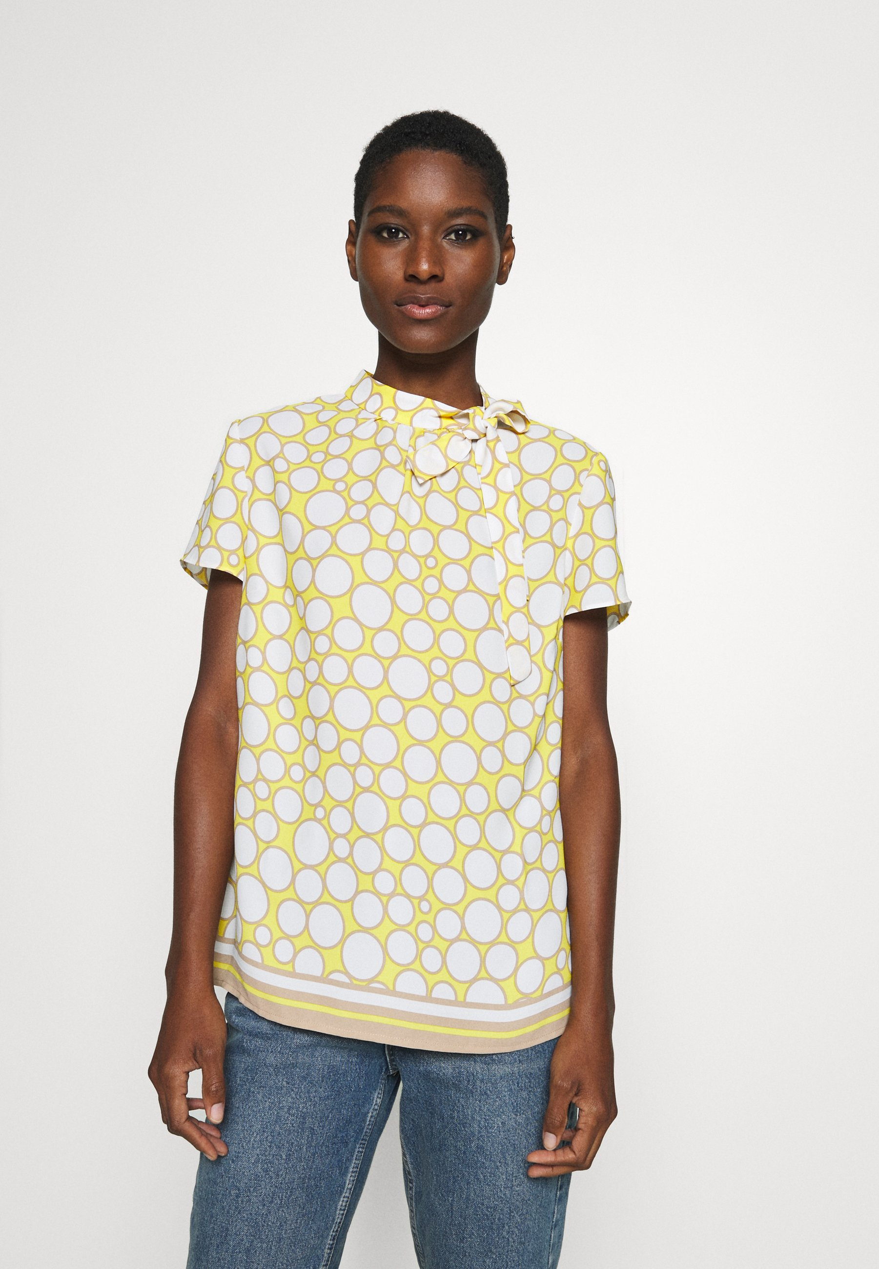 s.Oliver BLACK LABEL Bluser - light yellow