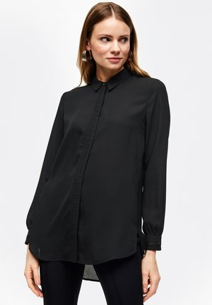ANIMÉ DE PLISSÉS - Overhemdblouse - black