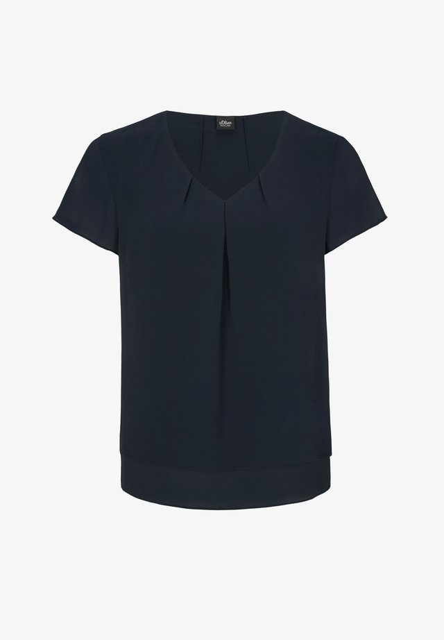 KURZARM - Blouse - dark navy