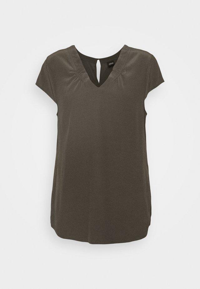 Bluzka - dark khaki