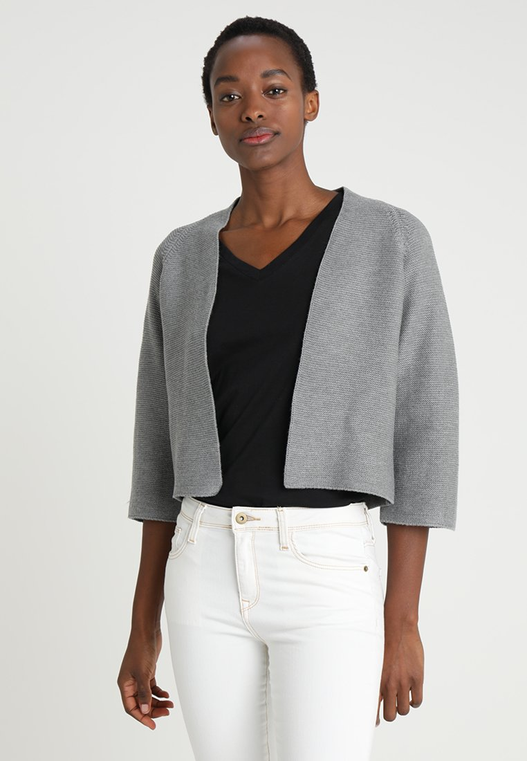 s.Oliver BLACK LABEL - Cardigan - grey melange
