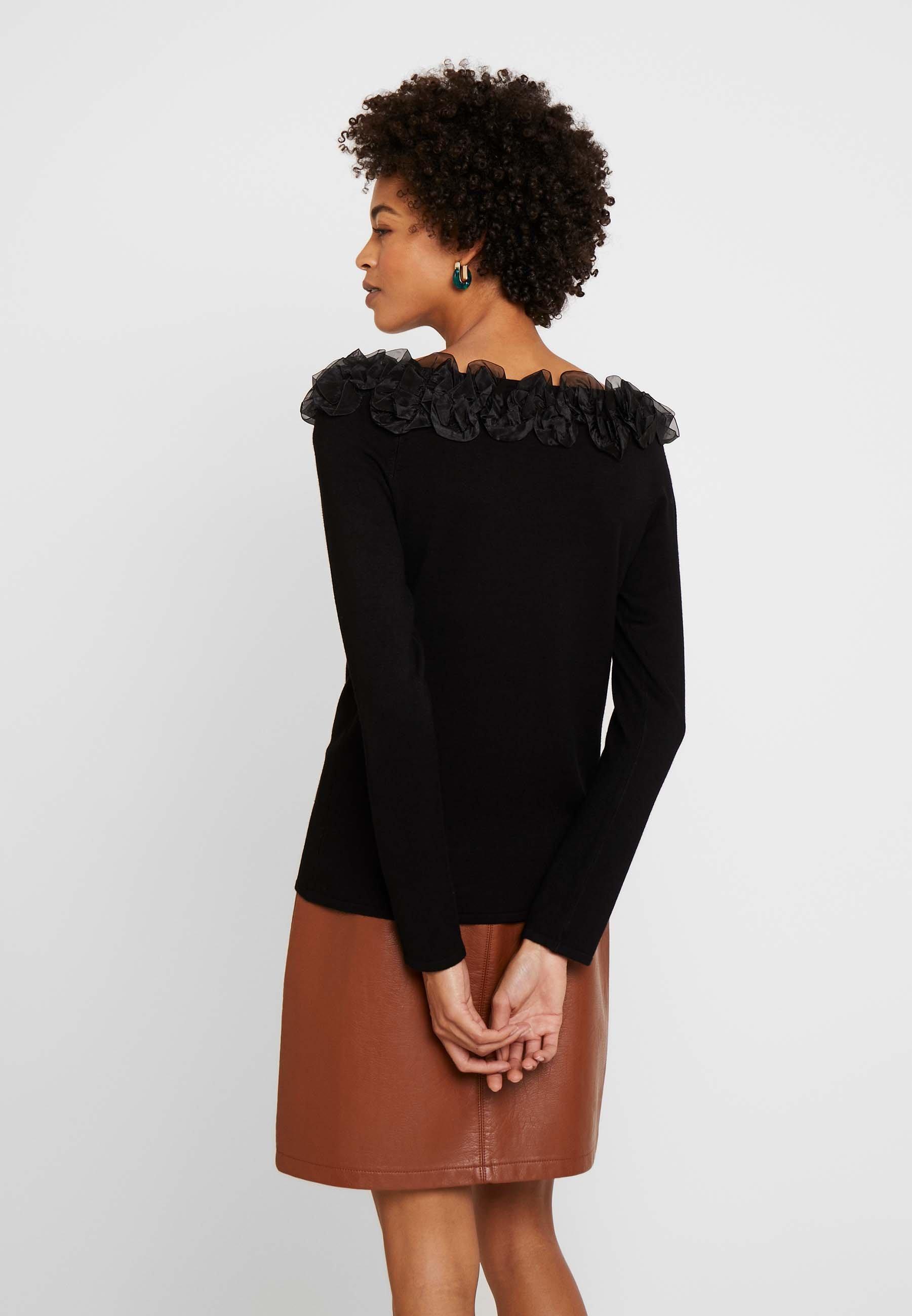 s.Oliver BLACK LABEL Sweter - true black