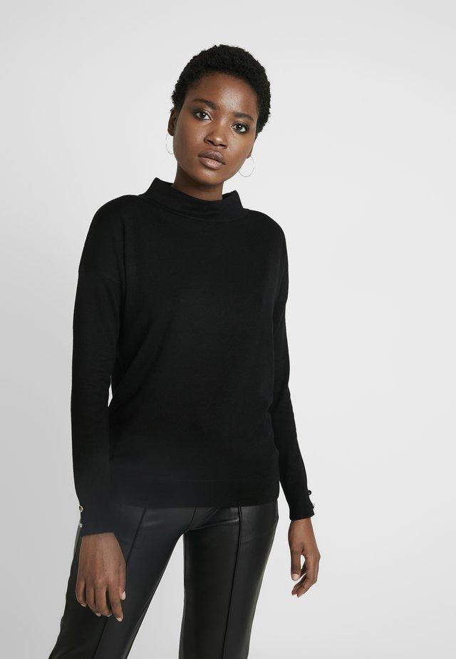 Jersey de punto - forever black