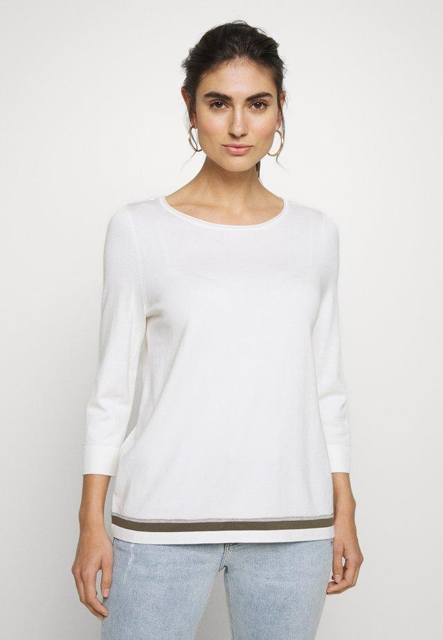 Sweter - soft white