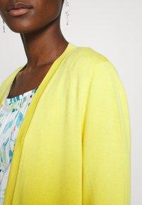 s.Oliver BLACK LABEL - Cardigan - yellow - 5