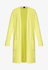 s.Oliver BLACK LABEL - Cardigan - yellow - 4